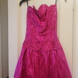 80's Vintage Gunne Saxe Prom Dress